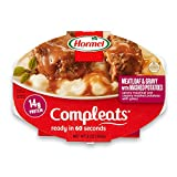 Hormel Compleats Meatloaf & Gravy with Mashed Potatoes, 9 Ounce (Pack of 6)