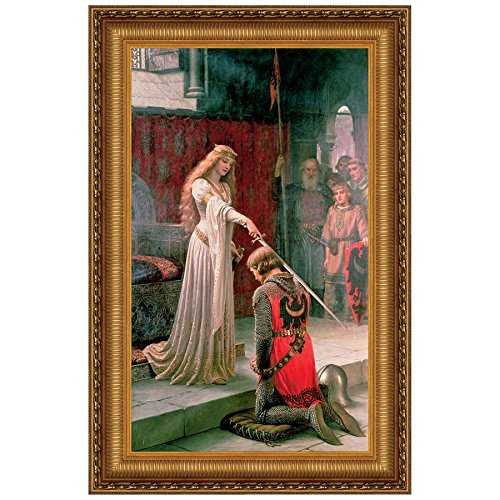 Design Toscano The Accolade, 1901, Canvas Replica Painting: Small (Blair Canvas Painting)