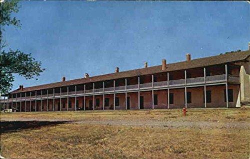 Cavalry Barracks Fort Laramie, Wyoming Original Vintage Postcard