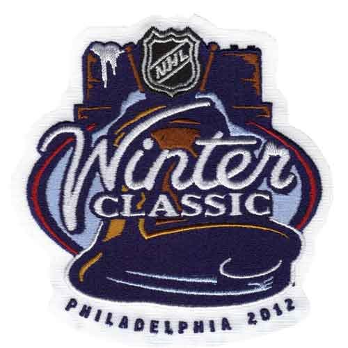 competitive price 72b73 12569 2012 NHL Winter Classic Game Logo Jersey Patch (Philadelphia Flyers vs New  York Rangers)