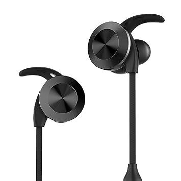 RIVERSONG Bluetooth auriculares inalámbricos auriculares over-ear auriculares a prueba de sudor con micrófono estéreo correr auriculares Bluetooth V4.1 CVC ...