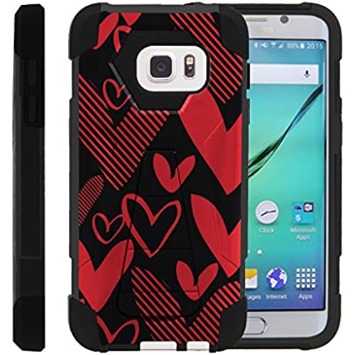 Galaxy S7, Armor Cover SHOCK Impact Built In Kickstand Case with Customized Designs Samsung S7 by Miniturtle - Sales