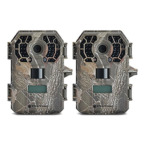 Cam Package (Stealth Cam G42NG No-Glo Trail Game Camera (2- Pack Bundle))