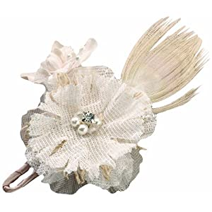 Lillian Rose Rustic Country Burlap Wedding Boutonniere 8