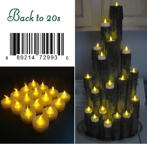 Flameless Electronic Led Flicker Candle Light