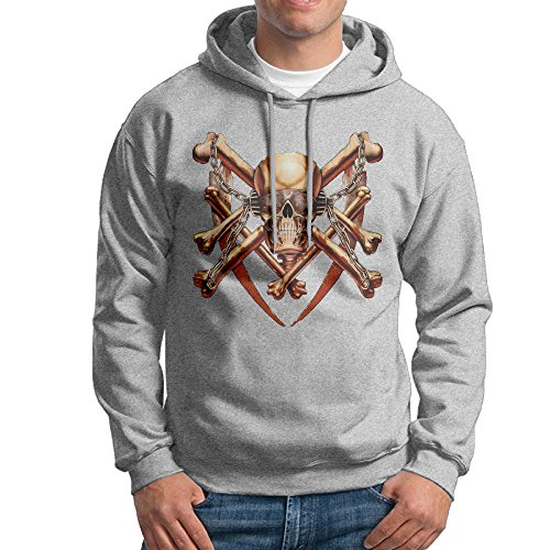 MARC Men's Megadeth Hoodies Ash Size M