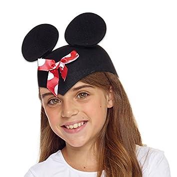 AEC-coiffe pequeña ratón con lazo disfraz, unisex adulto, aq04660 ...