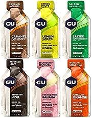 GU Energy Gel 24-delige mixpakket 24 x 32 gram verschillende soorten