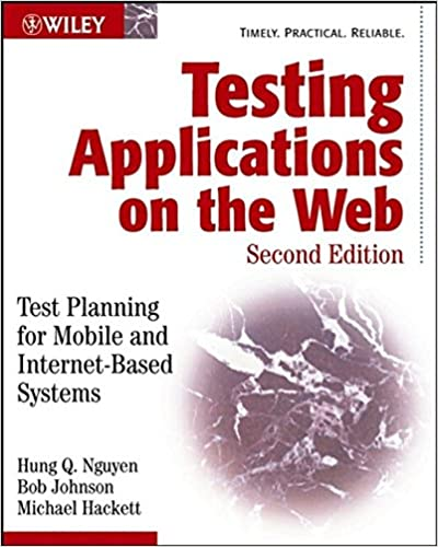 Testing Applications Web Planning