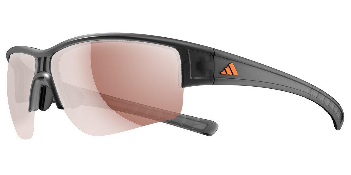 Sportbrille Evil Cross halfrim L grey/LST Vario