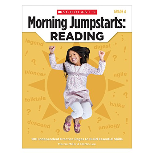 Morning Jumpstarts: Reading (Grade 4): 100 Independent