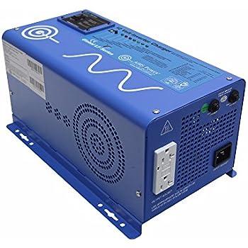 Amazon renogy 1000watt 12v dc to 120v ac pure sine wave aims power 1500 watt 12 vdc pure sine inverter charger w 4500w surge publicscrutiny Choice Image