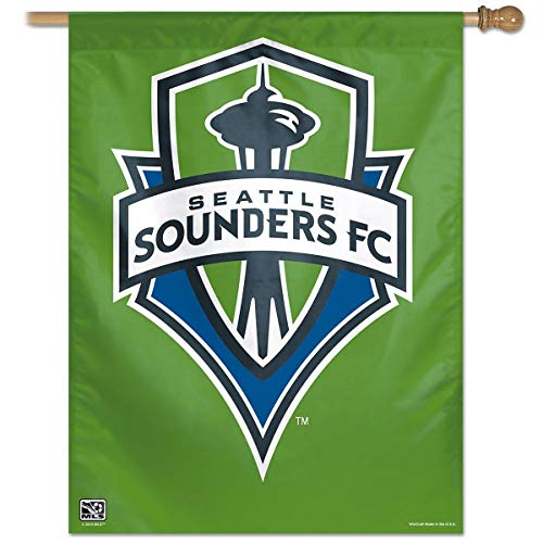 27x37 Vertical Banner - MLS Seattle Sounders FC 27-by-37 Inch Vertical Flag