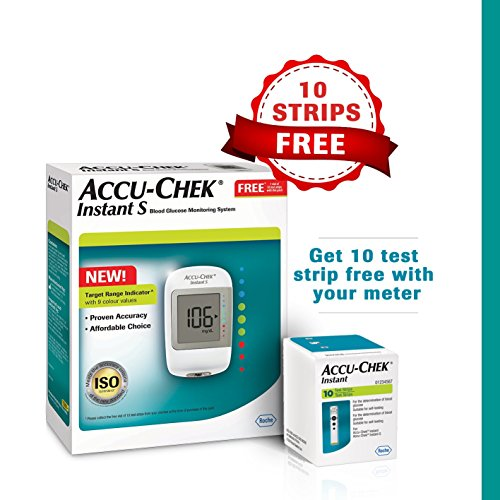 Accu Chek Instant Blood Glucose Monitoring System With