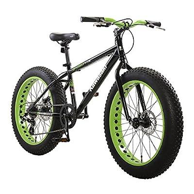 Kawasaki Shogun Fat Tire Bike, 24x4 inch wheels, Black