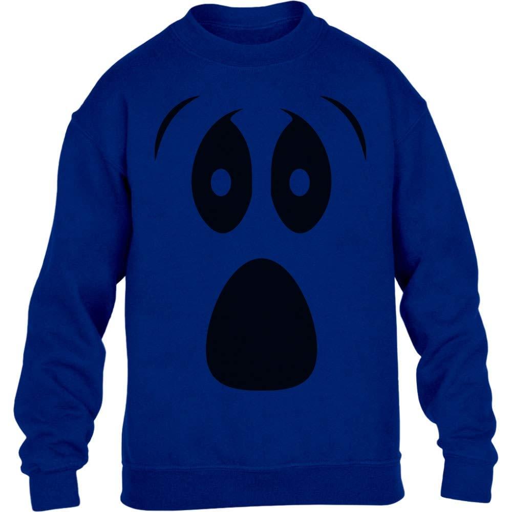 Grusel Kostüm Halloween Kostüme Kinder Pullover Ghost Kinder Pullover Sweatshirt VQCQgSl69t