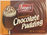 Lieber's Artificially Flavored Chocolate Pudding 3.75 Oz.Pack Of 3.