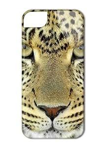 Case Fun Apple iPhone 5 / 5S Case - Vogue Version - 3D Full Wrap - Leopard Face