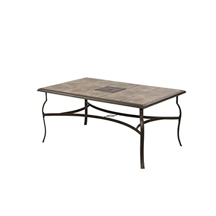 Amazon.com : Belleville Rectangular Patio Dining Table ... on home depot aluminum patio furniture, home depot wrought iron patio set, clearance lowe patio outdoor furniture, home depot patio umbrella clearance, home depot patio cushions, home depot patio furniture swing, home depot decks and patios, home depot patio furniture sets, hampton bay white wicker furniture, at home depot patio furniture, outdoor patio bar sets furniture, home depot patio sets sale, home depot patio furniture clearance closeout, home depot adirondack patio chairs, home depot white patio furniture, home depot patio tables, home depot thomasville patio furniture, home depot 5 piece outdoor dining set, hampton bay outdoor furniture, home depot patio swings with canopy,
