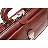 Cenzo Leather Doctor Bag