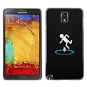 Impact Case Cover with Art Pattern Designs FOR Samsung Note 3 N9000 Funny Portal Drop Betty shop
