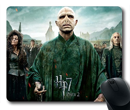 Gaming Mouse Pad, Harry Potter And The Deathly Hallows Personalized MousePads Natural Eco Rubber Durable Design Computer Desk Stationery Accessories Gifts For Mouse Pads