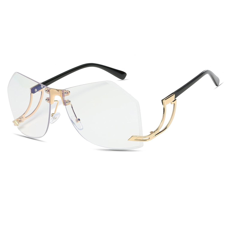 CVOO Metal Frame Women Sunglasses Frameless SunGlasses Alloy Legs Glasses rVyHfd