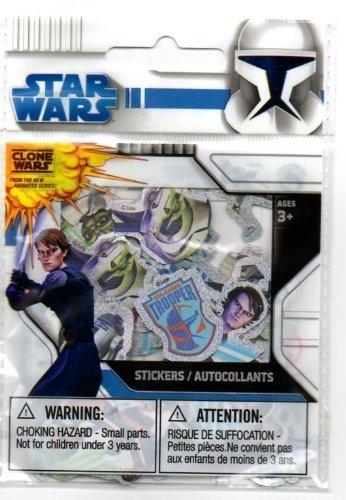 Star Wars - 100 Tiny Clone War Stickers
