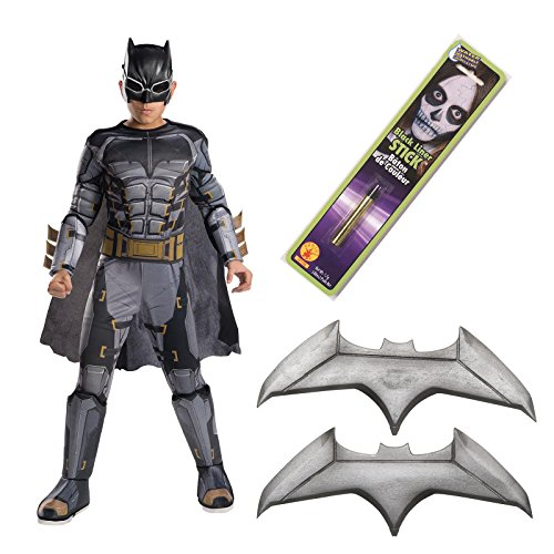 Man Deluxe Party Kit - Justice League Movie - Tactical Batman Deluxe Children's Costume Kit