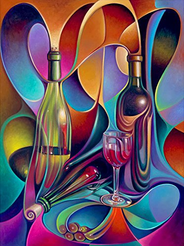 abstract wine - 2