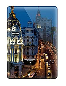 Shock-dirt Proof Madrid City Case Cover For Ipad Air