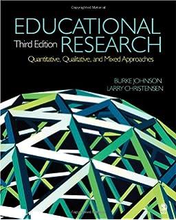 Educational research, quantitative, qualitative, and mixed.
