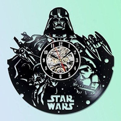 Star Wars Collectables Vinyl Record Wall Clock - Decorate your home with Modern Large Darth Vader, Stormtrooper and Yoda Art - Best gift for friend, man and boy - Win a prize for (Buy A Stormtrooper Costume)
