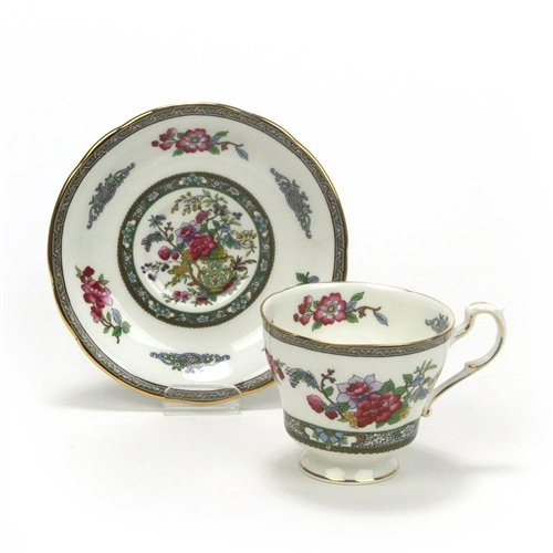 (Tree of Kashmir by Paragon, China Cup & Saucer )