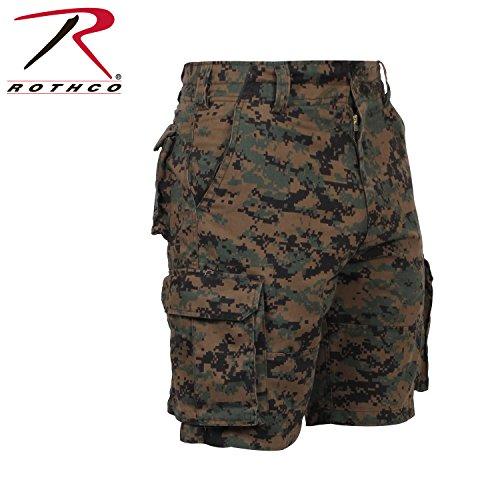 Army Bdu Shorts (Rothco Camo BDU Shorts Woodland Digital Camo -)