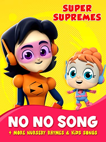 Halloween Songs For Nursery Rhymes (Super Supremes No No Song + More Nursery Rhymes & Kids)