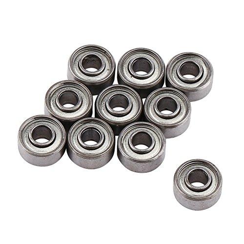 10x 693ZZ Miniature Ball Bearings 3*8*4mm Small Double Shielded Ball Bearing B$C
