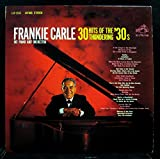 Paul Allen: FRANKIE CARLE 30 HITS OF THE THUNDERING 30'S vinyl reco