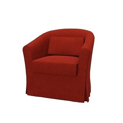 Soferia   IKEA EKTORP TULLSTA Armchair Cover, Elegance Dark Orange