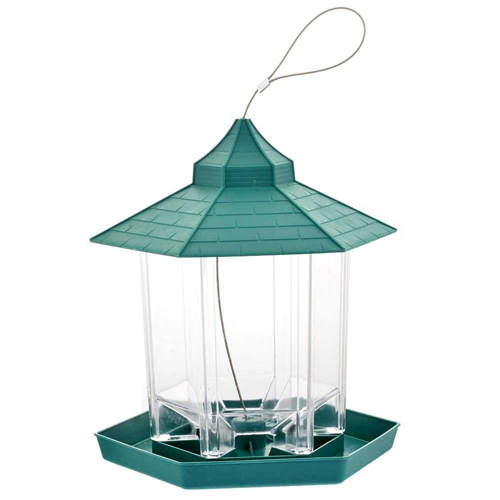 Chlove Mangeoire Oiseau pour Extérieur à Suspendre à Un Arbre Lanterne de Jardin Tulipe Chlove Mangeoire Oiseau pour Extérieur à Suspendre à Un Arbre Lanterne de Jardin Tulipe