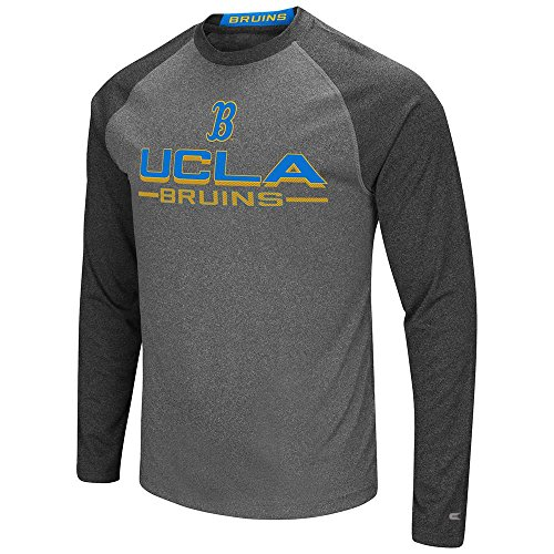Colosseum UCLA Bruins Long Sleeve T-Shirt Raglan Graphic Tee (XX-Large) - Ucla Football Rose Bowl