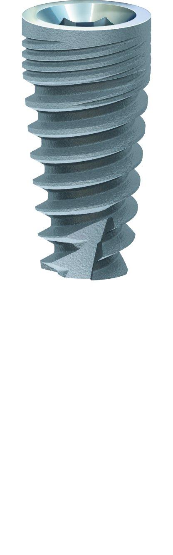 Paltop 20-70017P Advanced Plus Dental Implant, 3.75 mm Diameter, 8 mm Sterilized