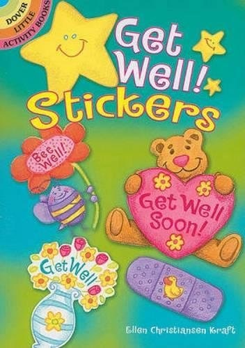 Get Well! Stickers (Dover Little Activity Books Stickers) PDF