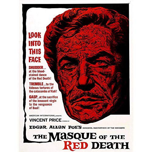 Wee Blue Coo Film Movie Masque Red Death Vincent Price Horror Unframed Wall Art Print Poster Home Decor Premium