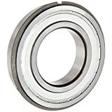 ORS 6202 ZZ NR C3 Deep Groove Ball Bearing, Single Row, Double Shielded, Snap Ring, Steel Cage, C3 Clearance, ABEC 1 Precision, 15mm Bore, 35mm OD, 11mm Width