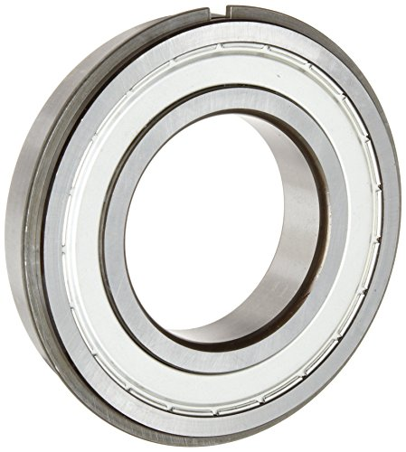 ORS 6005 ZZ NR C3 Deep Groove Ball Bearing, Single Row, Double Shielded, Snap Ring, Steel Cage, C3 Clearance, ABEC 1 Precision, 25mm Bore, 47mm OD, 12mm Width ()