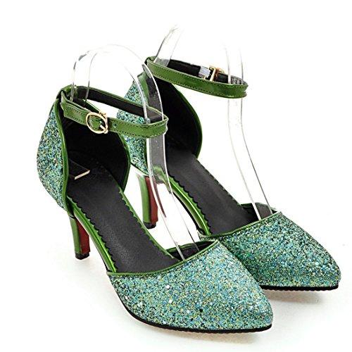 33 017 4A22182 Tira HSY de con Agodor de Verde Mujer Tobillo Cuentas qtTCwEtxa