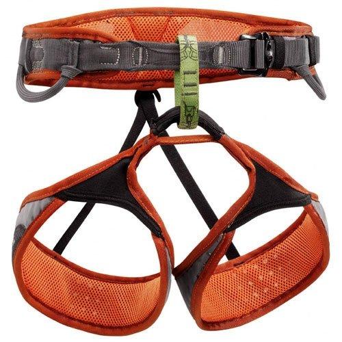 Petzl Sama Climbing Harness – Burnt Orange XL, Outdoor Stuffs