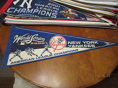 2000 World Series New York Yankees AL champions pennant