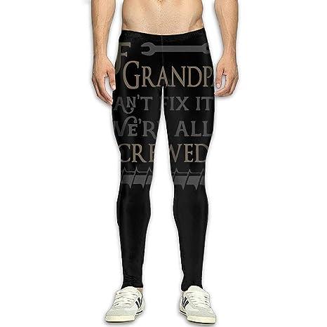 Amazon.com : NKUANYJYDKN7 Mens If Grandpa Cant Fix It We ...